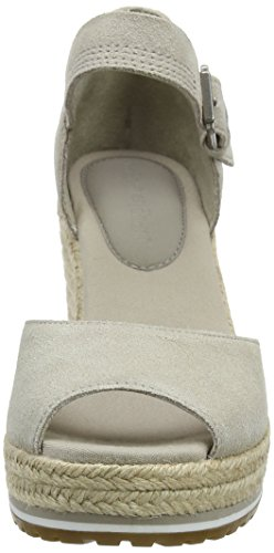 Timberland Nice Coast Suede Strap, Ciabatte Donna Marrone (Simply Taupe Suede And Canvas L47)