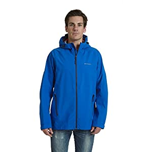 Champion Men's Stretch Waterproof Rain Jacket, Awesome Blue, XX-Large