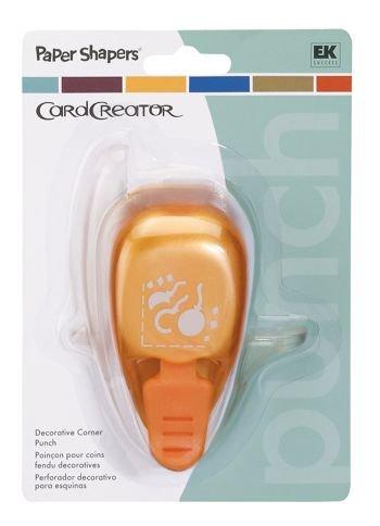 (EK Success Paper Shaper CardCreator Corner Punch CELEBRATION For Scrapbooking, Card Making & Craft Projects)