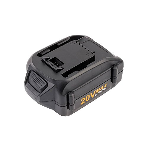 for Worx WA3520 20V Max Li-ion Replacement Battery for Worx WG151s WG155s WG251s WG255s WG540s WG545s WG890 WG891 ()