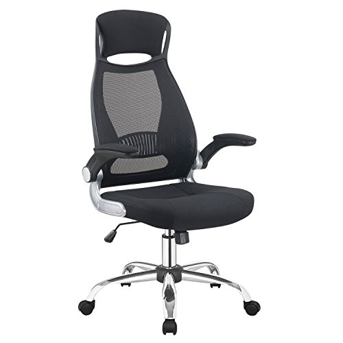 Adjustable High Back Mesh Executive Desk Chair-Model Office Chair With Lumbar Support,Black by JUMEI