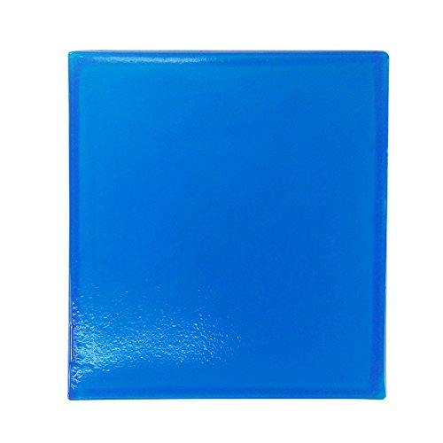 Seat Cushion Motorcycle Seat Gel Pad Motorcycle Gel Seat Cushion Comfortable Soft Cool Cushion, Blue (9.84 x 9.84 x 0.39