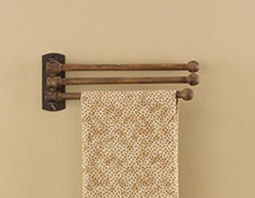 Park Designs 3 Prong Wood Towel Rack by Park Designs