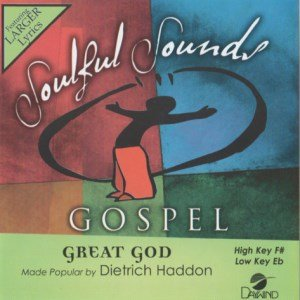 Great God [Accompaniment/Performance Track] (Daywind Soundtracks Contemporary)