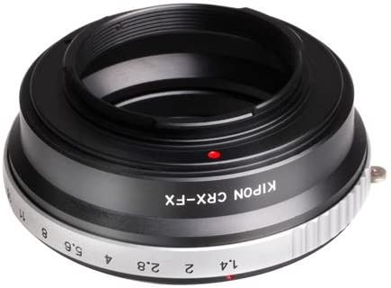 Kipon Contarex CRX Lens to Fuji X Series Camera Lens Adapter with Aperture Control Ring