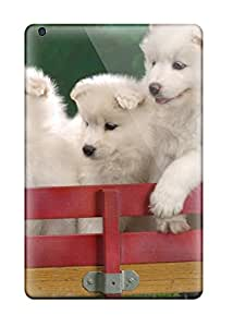 Albert R. McDonough's Shop 3983444I87227683 Wagonload Of Samoyed Puppies Durable Ipad Mini Tpu Flexible Soft Case