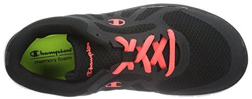 New Champion de 2175 Low Chaussures Alpha Running Femme Compétition Noir Black Shoe Cut BvAxnBXqU