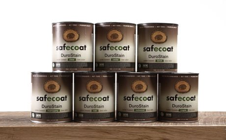 Afm Safecoat Durostain, Walnut, 32 Oz. Can 1/Case