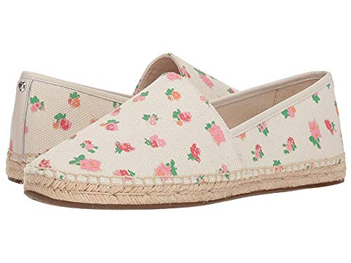 Coach Women's Flat Espadrille Pink Multi Floral Canvas 9.5 M US