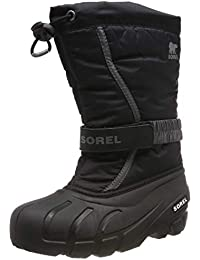 Girl/'s Fashion Quilted Tall Boots with Bow Detail At Side Black Red Purple