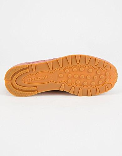 Infantil Luminancia Tendero  Reebok Women's CL Lthr Clean Exotic Print Track Shoe, Sandy Rose/Chalk/Gum,  8.5 M US- Buy Online in Antigua and Barbuda at antigua.desertcart.com.  ProductId : 46914975.