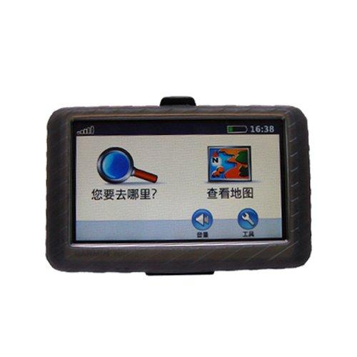 Gizmo Dorks Special! Garmin GPS Silicone Skin Case Smoke, for Use with 4.3 Inch Screens: Garmin 200w 250w 255W 260W 265WT (Does Not Include Garmin GPS!) by Gizmo Dorks