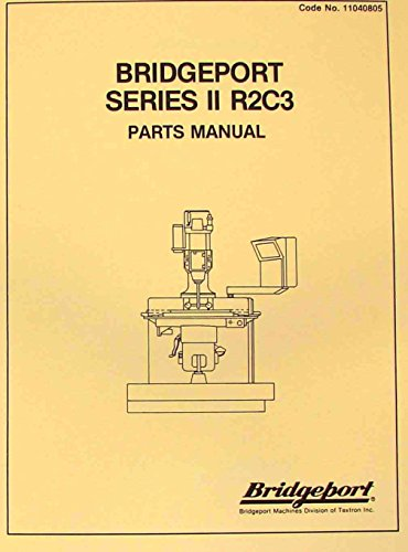 (BRIDGEPORT Series II R2C3 CNC Mill Parts)