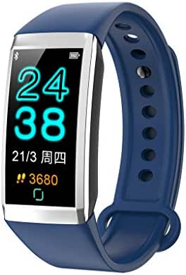 Nesee Fitness Tracker, Fitness Watch Heart Rate Monitor Activity Tracker,Color Screen Dual-Color Bands IP67 Waterproof,with Step Counter Sleep Monitor 14 Sports Tracking for Women Men Kid