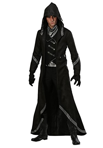 Men's Modern Warlock Costume - M Brown -
