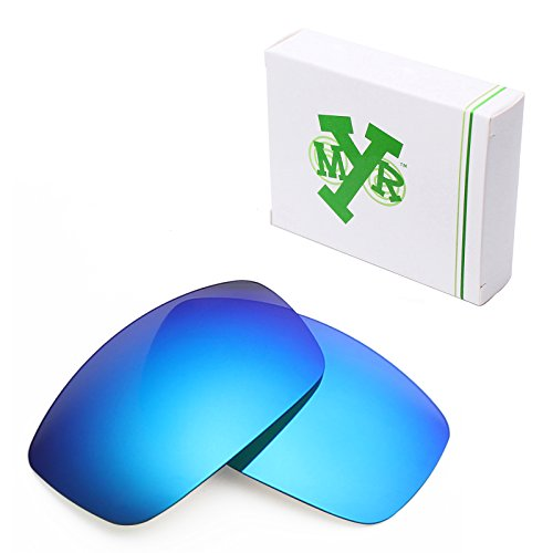 Mry Polarized Replacement Lenses For Spy Optic Cooper Xl Sunglasses  Standard  Ice Blue