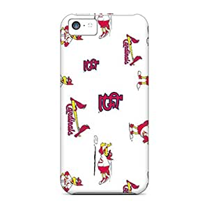 Iphone 5c JVY16523WJju Customized Nice St. Louis Cardinals Pattern Best Hard Cell-phone Cases -ColtonMorrill