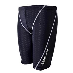 Easea Men`s Rapid Swim Splice Quick Dry Jammer Swimsuit
