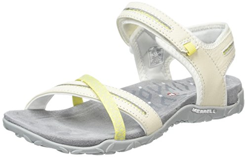 Women's Hook Terran II Cross Merrell White White and Loop Sandals nZafg