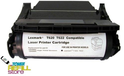 Toner Refill Store Remanufactured Toner Cartridge for Lexmark 12A6765 12A6865 X622 T620 T620dn T622 T622n T622dn X620e