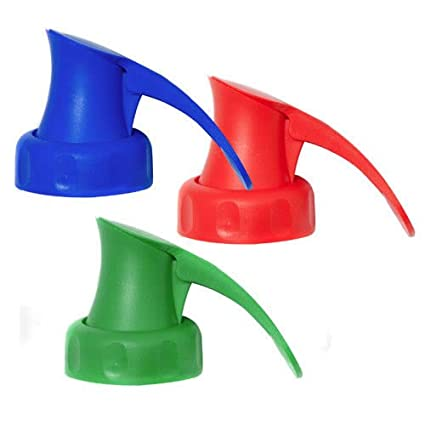 The Topster Household Pack of 3 Topster Milk Pourers Red, Green & Blue