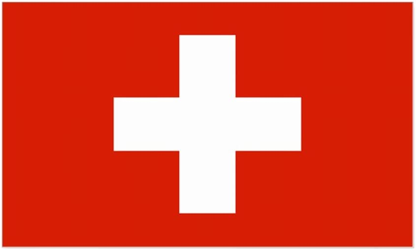 Amazon.com: CafePress Swiss Flag Rectangle Sticker Rectangle Bumper Sticker  Car Decal: Home & Kitchen