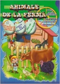 Animale De La Ferma Romanian Edition Rodica Lambrache