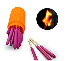 Jackie 11 Packs Portable Extra-large Head Windproof Waterproof Matches
