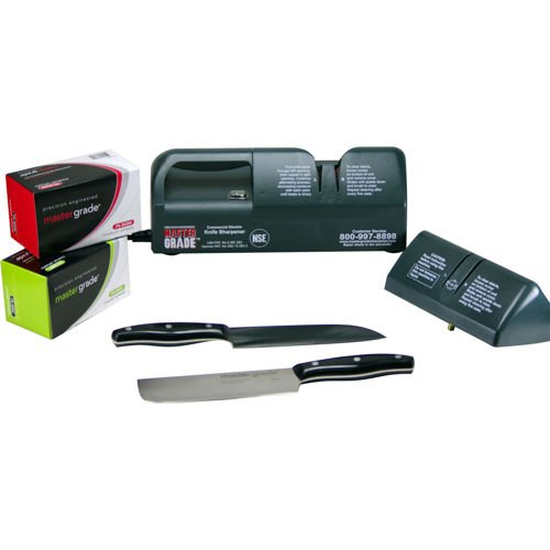 Master Grade HD Electric Commercial Knife Sharpener by Master Grade
