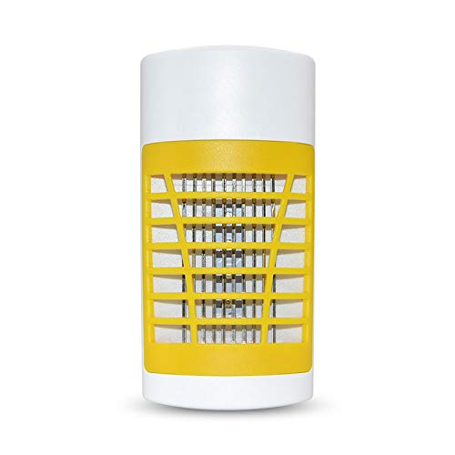 (Greatico Bug Zapper - Mosquito Killer lamp Insect Trap -No Radiation-Insect Trap,Mosquito Trap Light for Indoor Bedroom, Kitchen, Office, Home (Yellow))