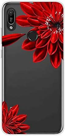 Coque Compatible avec Huawei Y6 2019,/Étui Housse Transparent Silicone Cr/éatif Motif Imprim/é Design TPU Ultra Mince Souple Crystal Poids L/éger Gel Antichoc Cadeau Bumper Cover,Petit Tigre