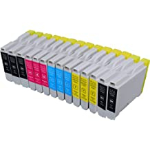 14 Pack Compatible Brother LC-51 5 Black, 3 Cyan, 3 Magenta, 3 Yellow for use with Brother DCP-130-C, DCP-350-C, DCP-540-CN, Fax-1355, Fax-1360, Intellifax 1360, Intellifax 2480C, MFC-240-C, MFC-260-C, MFC-3360-C, MFC-440-CN, MFC-465-CN, MFC-5460-CN, MFC-5860-CN, MFC-665-CW, MFC-685-CW, MFC-845-CW, MFC-885-CW. Ink Cartridges for inkjet printers. LC-51-BK , LC-51-C , LC-51-M , LC-51-Y © Zulu Inks