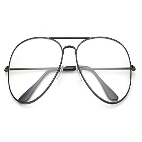 fd0e948ddfb good Creazrise Unisex Clear Lens Glasses Retro Metal Spectacle Frame Myopia  Eyeglasse for Men Women