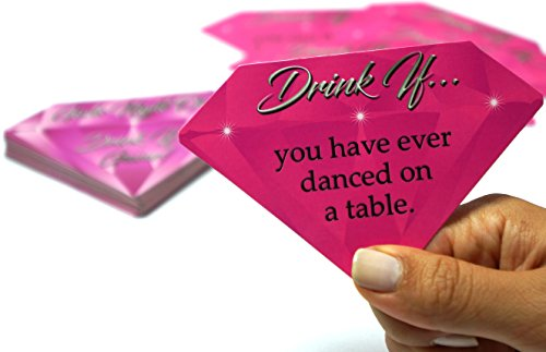 Girls Night Out Drink If Game! - 40 Game Cards for Bachelorette Parties, Girl's Night, Bridal Showers and More by Amazing Night Productions