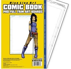 Pro Full Trim Comic Book Boards