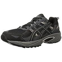 ASICS Men's Gel Venture 5 Running Shoe, Black/Onyx/Charcoal, 8 M US