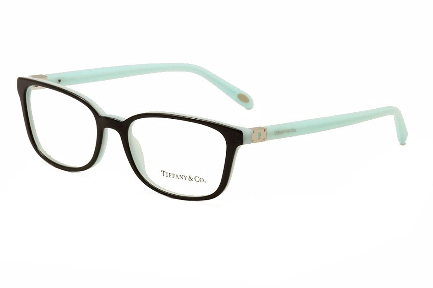 Amazon.com: TIFFANY Eyeglasses TF 2094 8055 Black/Blue 54MM: Clothing