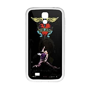 Happy Bon Jovi Heart And Dagger Cell Phone Case for Samsung Galaxy S4