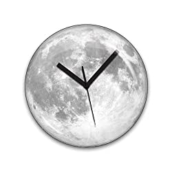 Kikkerland Claire de Lune Moonlight Clock