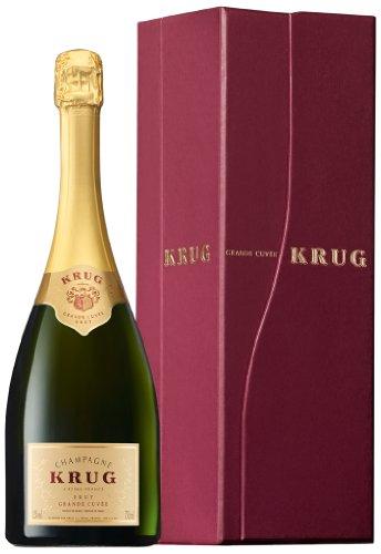 KRUG Grande Cuvée Champagner Brut mit Geschenkverpackung (1 x 1.5 l)