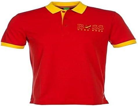 Hugo Boss Hombre Camiseta Polo Paddy de la bandera España 50260461 ...