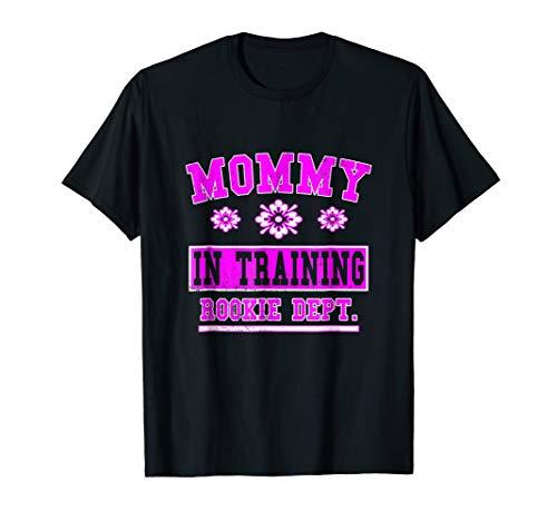Born Maternity T-shirt - Mommy In Training Pregnancy T Shirt
