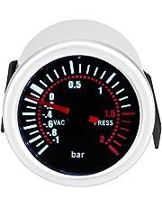 "Turbo Boost-meter, 2""12 V auto Universele 12 V LED Digitale Turbo Boost PSI-meter Meter voor universele auto's"