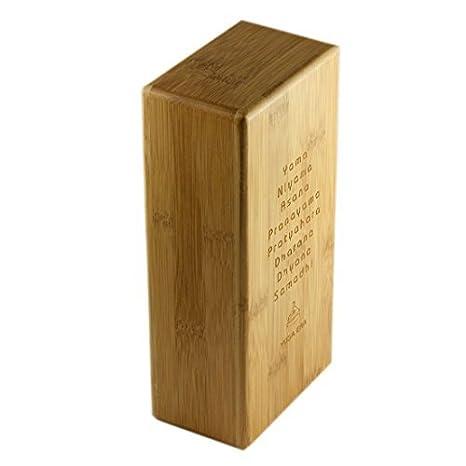 Amazon.com : eDealMax bambú Ejercicio Retangular Yoga en ...