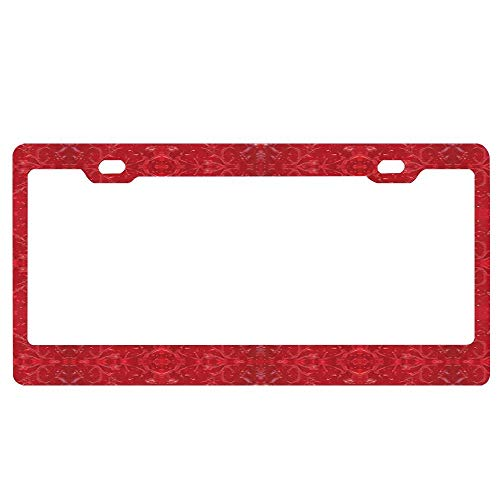 Vanity Classical (SDGlicenseplateframeIUY Bohemian Classical Intricate 18 Custom License Plate,Vanity Sign Auto Tag Car Truck Accessory (12X6))