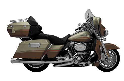 (Supertrapp 06-16 Harley FLHX2 Fatshots Slip-On Exhaust (Chrome))
