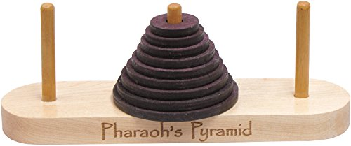 Pharoh's Pyramid - Made in USA (Pyramid Wood Puzzle)