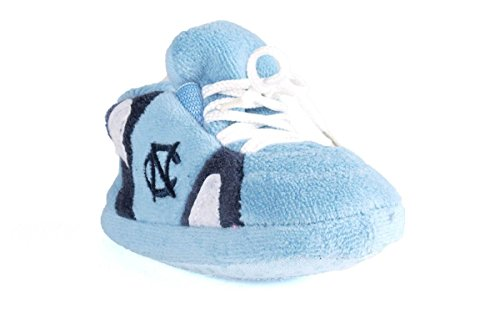 (NCU03PR - North Carolina Tar Heels NCAA Happy Feet Baby Slippers)