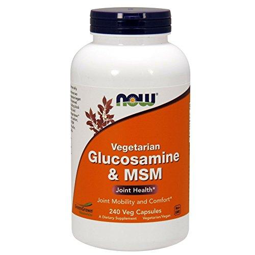 NOW Glucosamine MSM 240 Capsules product image