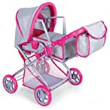 Bassinet Doll Stroller w/ FREE Carriage Bag, Baby & Kids Zone